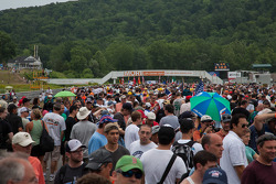 Fan walk at Lime Rock