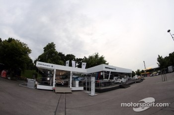 BMW Motorsport Display In The Paddock