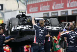 The Car of Valtteri Bottas, Williams F1 Team