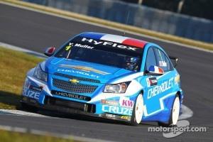 Yvan Muller, Chevrolet Cruze 1.6T, Chevrolet
