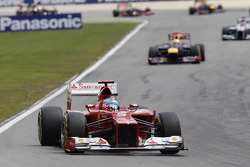 Fernando Alonso, Scuderia Ferrari, Start