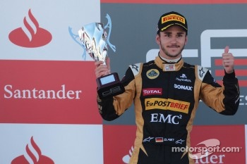 Podium: second place Daniel Abt