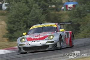 #45 Flying Lizard Motorsports: Jrg Bergmeister, Patrick Long