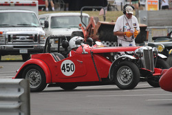 #450, 1953 MG TD, Mike Barstow