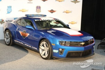 The Camaro pace car