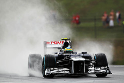 Bruno Senna, Williams in the wet