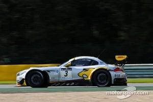#3 Marc VDS Racing Team BMW Z4 GT3: Markus Palttala, Bas Leinders, Maxime Martin