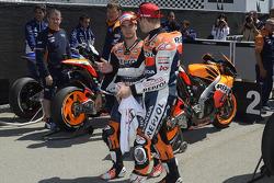 Dani Pedrosa, Repsol Honda Team and Casey Stoner, Repsol Honda Team