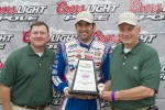 Pole winner Elliott Sadler