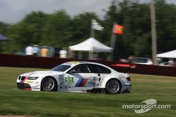 #55 BMW Team RLL BMW E92 M3: Jorg Mller, Bill Auberlen