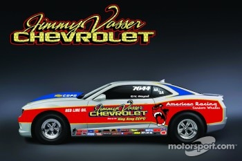 Jimmy Vasser Chevrolet to enter COPO Camaro in Factory Stock Showdown at U.S. Nationals