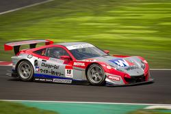 #18 Weider Honda Racing Honda HSV-010 GT: Takashi Kogure, Carlo Van Dam