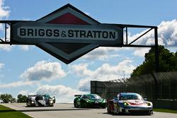 #44 Flying Lizard Motorsports Porsche 911 GT3 RSR: Seth Neiman, Marco Holzer