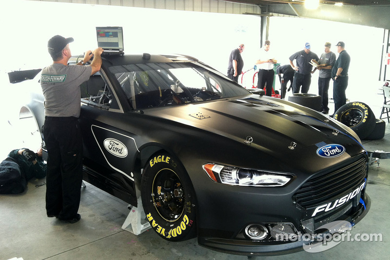 Ford tests the 2013 Fusion