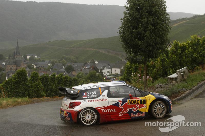 Sébastien Loeb and Daniel Elena, Citroën DS3 WRC, Citroën Total World Rally Team