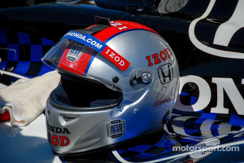 Helmet Detail, Mike Conway, A.J. Foyt Enterprices