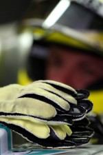 Gloves of Nico Rosberg, Mercedes GP