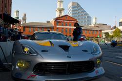#93 SRT Motorsports Srt Viper GTSR: Marc Goossens, Tommy Kendall