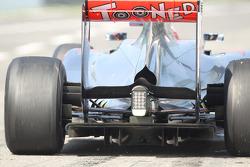 Jenson Button, McLaren, rear diffuser