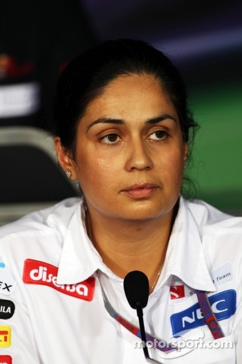 FIA press conference: Monisha Kaltenborn, Sauber Managing Director