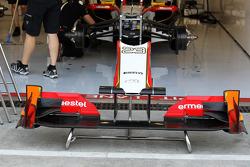 Hispania Racing F1 Team, front wing