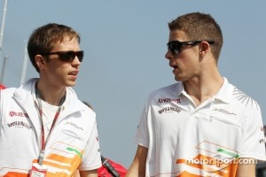 Will Hings, Sahara Force India F1 Press Officer with Paul di Resta, Sahara Force India F1
