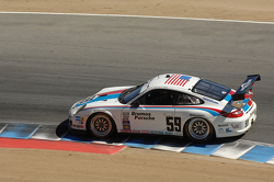 #59 Brumos Racing Porsche GT3 Cup: Andrew Davis, Leh Keen