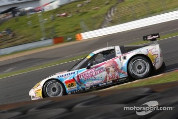 #48 Dijon Racing Callaway Corvette Z06R GT3: Hiroshi Takamori, Shogo Mitsuyama