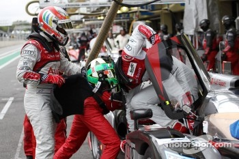 Tom Kristensen and Lucas di Grassi