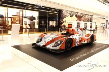 Oak Racing exposition at a local Sao Paulo shopping mall