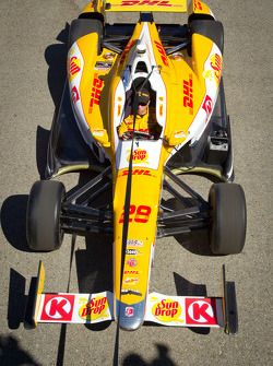 Car of Ryan Hunter-Reay, Andretti Autosport Chevrolet