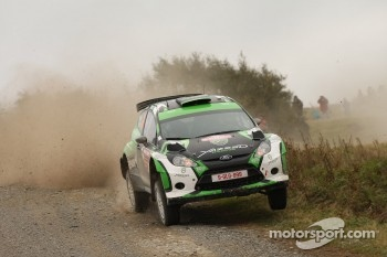 Yazeed Al-Rajhi and Michael Orr, Ford Fiesta S2002