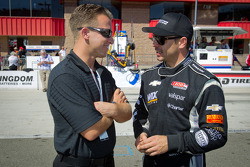 A.J. Allmendinger and Oriol Servia, Dreyer & Reinbold Racing Chevrolet