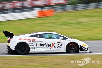 #24 Reiter Engineering Lamborghini Gallardo LP600: Mike Parisy, Jeroen Bleekemolen
