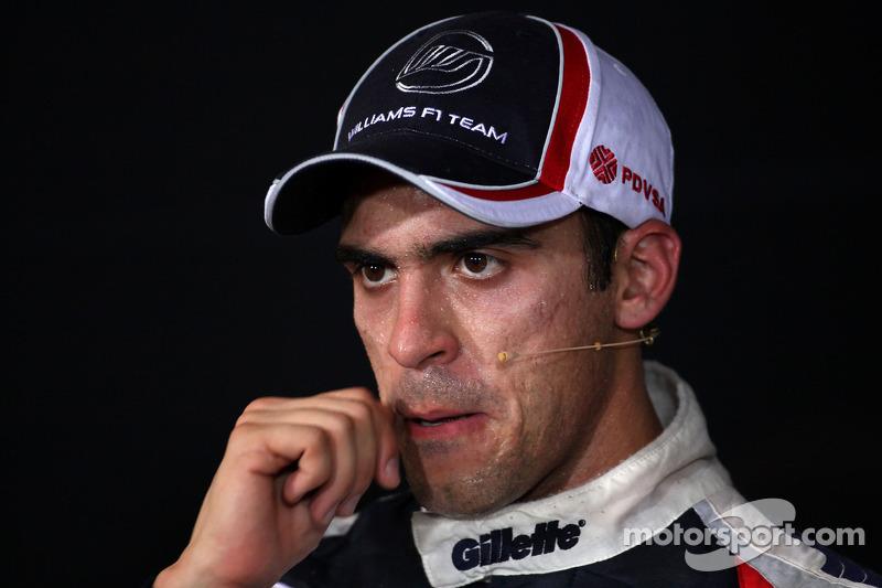 FIA press conference: second place Pastor Maldonado