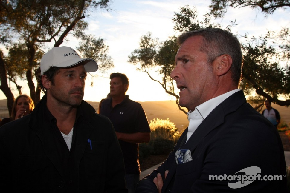 Welcome cocktail, Patrick Dempsey, Actor and Marcello Lotti, WTCC General Manager