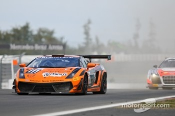 #111 Rhino's Leipert Motorsport Lamborghini Gallardo LP600: Hari Proczyk, David Mengesdorf