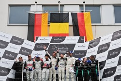 Pro class/overall podium: Rudi Penders (Prospeed team owner),Congfu Cheng, Jeroen Bleekemolen, Mike Parisy, Marc Goossens, Xavier Maassen, Marc Hennerici, Greg Franchi, Frank Kechele, Mathias Lauda