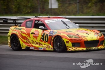 #40 Share A Little Sunshine, Visit Florida, Mazda Dempsey Racing Mazda RX-8: Joe Foster, Tom Long