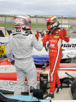 Winner Raffaele Marciello, second place Daniel Juncadella