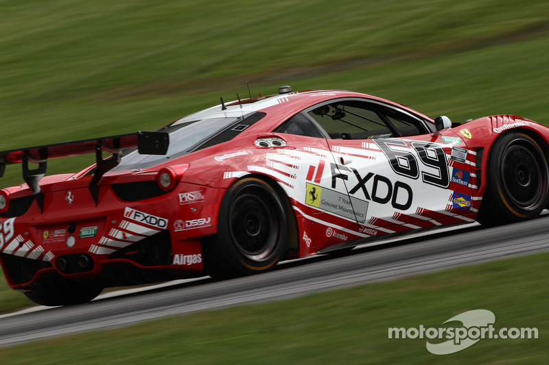 # 69 Aim Autosport Team FXDD Racing With Ferrari 458: Emil Assentato, Jeff Segal
