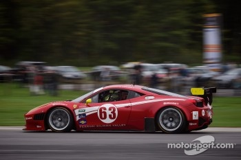#63 Scuderia Corsa Ferrari 458: Alessandro Balzan, Johannes van Overbeek 