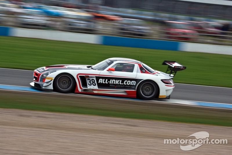 #38 All-Inkl.com Munnich Motorsport Mercedes-Benz SLS AMG GT3:Marc Basseng, Markus Winkelhock