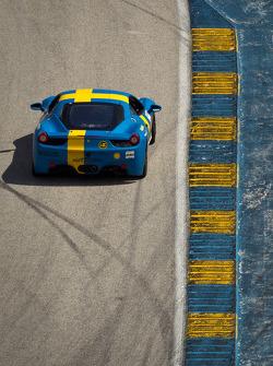 #010 Ferrari of Ft Lauderdale 458CS: Hendrik Hedman