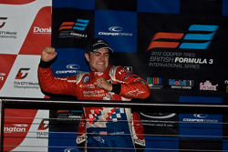 Champion Jack Harvey celebrates