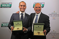 GT champions Emil Assentato and Jeff Segal