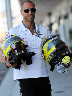Daniel Schloesser, Personal Trainer of Nico Rosberg, Mercedes AMG F1