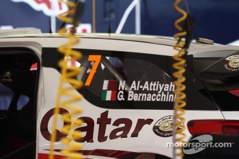 Nasser Al-Attiyah and Giovanni Bernacchini, Citroën DS3 WRC, Qatar World Rally Team