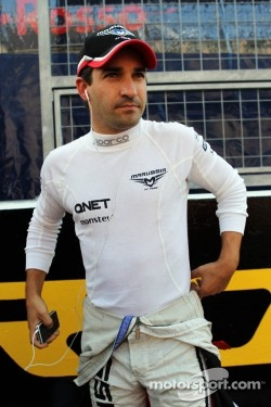 Timo Glock, Marussia F1 Team on the grid
