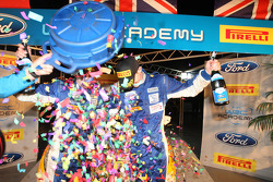 WRC Academy champions Elfyn Evans and Andrew Edwards, Ford Fiesta R2